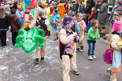 El carnaval de los niños en los Países Bajos fotos de archivo