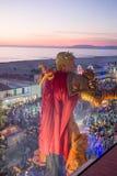 El carnaval de Viareggio, edición 2019 foto de archivo