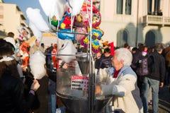 El carnaval de Viareggio, edición 2019 fotografía de archivo libre de regalías