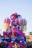 El carnaval de Viareggio, edición 2019 fotos de archivo libres de regalías