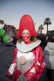 El carnaval de Viareggio, edición 2019 fotos de archivo