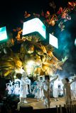 El carnaval de Viareggio, edición 2019 imagen de archivo libre de regalías