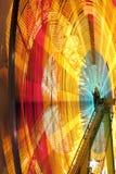El carnaval rueda adentro el movimiento Imagen de archivo
