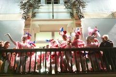 El carnaval Se viste-Para arriba Imagenes de archivo