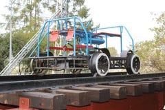El carro ferroviario mecánico Fotografía de archivo