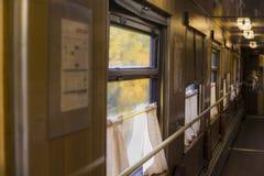 El carro viejo del tren Imagenes de archivo