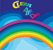 Día del aire limpio Imagen de archivo