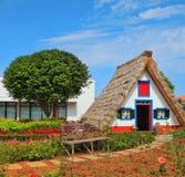 El casa-museo de los primeros colonos en la Madeira imagen de archivo