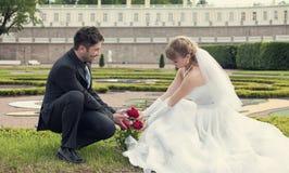 Día de boda fotos de archivo libres de regalías