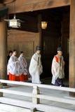 El casarse en Japón Foto de archivo libre de regalías