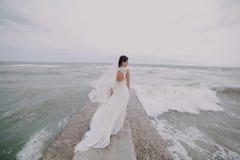 El casarse en Odessa; foto de archivo libre de regalías