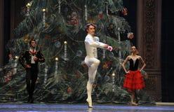 El cascanueces del ballet del Baile-cuadro 3-The de la demostración del príncipe imagen de archivo libre de regalías
