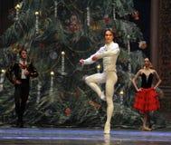 El cascanueces del ballet del Baile-cuadro 3-The de la demostración del príncipe imagenes de archivo