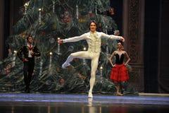 El cascanueces del ballet del Baile-cuadro 3-The de la demostración del príncipe foto de archivo libre de regalías