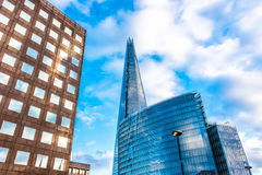 El casco Londres Imagenes de archivo