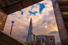 El casco Londres Imagen de archivo libre de regalías