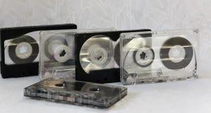 El casete audio viejo Fotografía de archivo