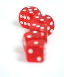 El casino corta en cuadritos foto de archivo