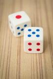 El casino corta en cuadritos Imágenes de archivo libres de regalías