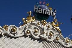 El casino de Harrah en Las Vegas, Nevada foto de archivo