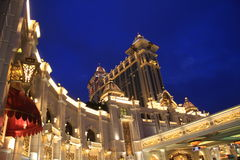 El casino de la galaxia en Macao Foto de archivo libre de regalías