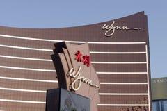 El casino de Wynn en Macau Imagen de archivo libre de regalías