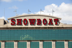El casino del Showboat en Atlantic City, New Jersey Foto de archivo libre de regalías