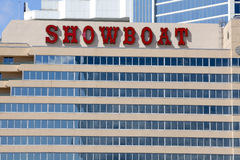 El casino del Showboat en Atlantic City, New Jersey Foto de archivo