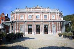 El casino histórico en el balneario, Ardenas, Bélgica Fotos de archivo