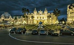 El casino magnífico en Mónaco Imagen de archivo libre de regalías