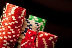 El casino salta el fondo fotos de archivo