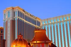 El casino veneciano del hotel de centro turístico Fotografía de archivo