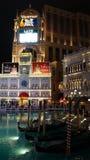 El casino veneciano del hotel de centro turístico en Las Vegas Fotografía de archivo