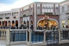 El casino veneciano del hotel turístico en Las Vegas Imagen de archivo