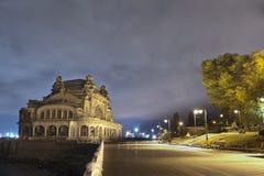 El casino viejo en Constanta, Rumania Foto de archivo libre de regalías