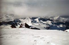 El casquillo de la cumbre Foto de archivo