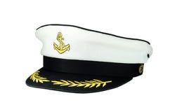 El casquillo del capitán fotos de archivo