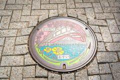 El casquillo en el lago del kawaguchiko Foto de archivo libre de regalías