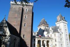 El Castel Enrique IV de Pau Fotografía de archivo libre de regalías