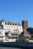 El Castel Enrique IV de Pau en Francia Fotos de archivo