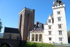El Castel Enrique IV de Pau, Francia Imágenes de archivo libres de regalías