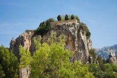 EL Castell De Guadalest Images stock