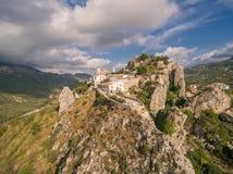 EL Castell de Guadalest Imagenes de archivo