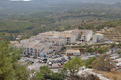 El castell de guadalest Royalty Free Stock Images