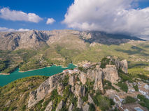 El Castell de Guadalest. Spain, Costa Blanca Royalty Free Stock Photos