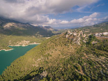 El Castell de Guadalest. Spain, Costa Blanca Stock Photo