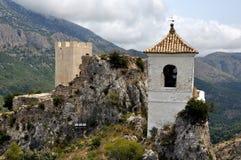 EL Castell de Guadalest, España fotos de archivo libres de regalías