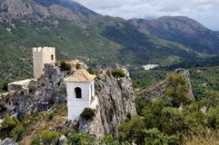 El Castell de Guadalest, Spain Royalty Free Stock Photo