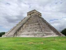 EL Castillo σε Chichen Itza στοκ εικόνα με δικαίωμα ελεύθερης χρήσης
