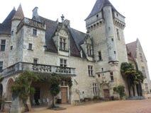 El castillo Imágenes de archivo libres de regalías